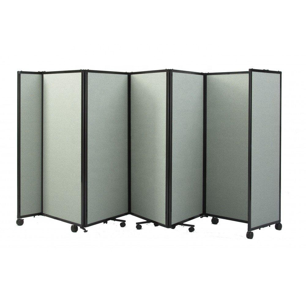 Wooden Privacy Screen Movable Room Divider Office Partition
