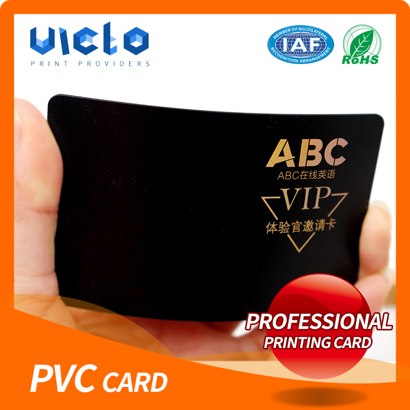 Fashion custom playing pvc card from China famous supplier