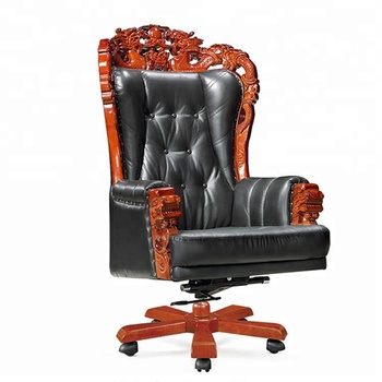 Surprising Vintage Tufted Classic Boss Manager Genuine Leather Executive Office Chair King Throne Chair Buy Vintage Tufted King Throne Chair Executive Gamerscity Chair Design For Home Gamerscityorg