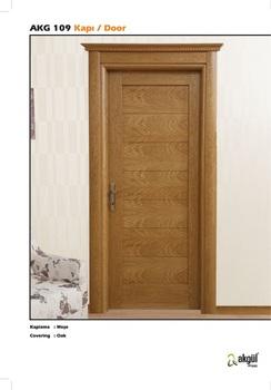 Horizontal line interior door