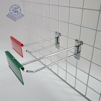 Metal Grid Display Hooks