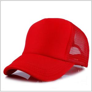 21019bcd23f63 Custom Men Plain Baseball Cap Solid Trucker Mesh Blank Curved Visor Hat