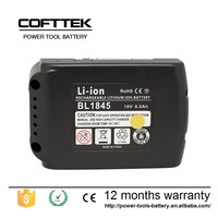 Power tool lithium battery 18V 4400mah battery for makita drill