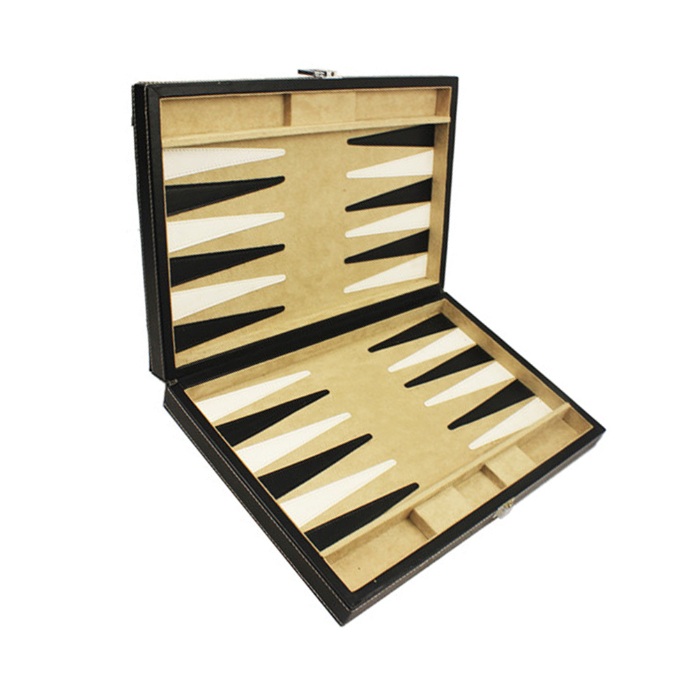 High Quality Stores Sell Wooden Chess Set Cover by Leather