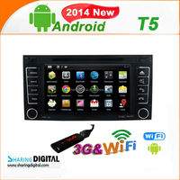 Fashion android car DVD Support wireless IPOD for volkswagen TRANSPORT T5
