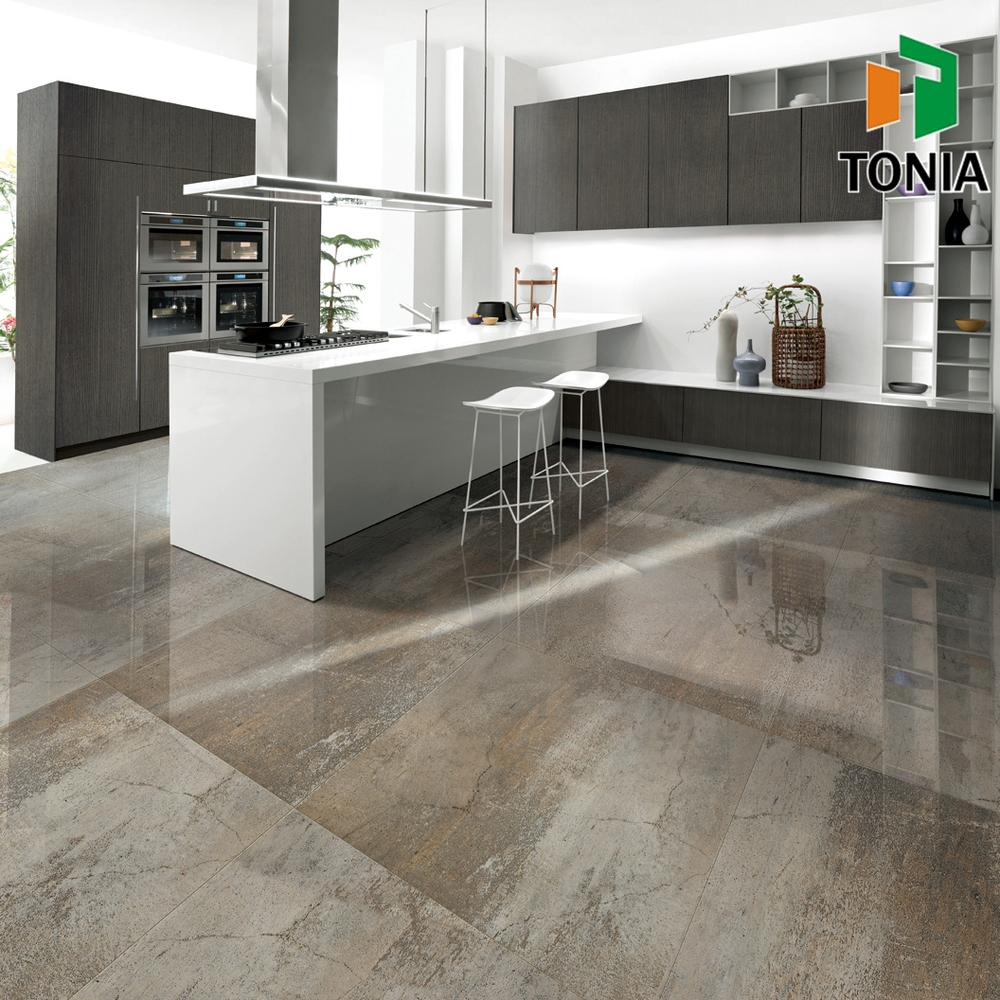 600x900 600x600 polished glazed porcelain modern open kitchen 600x900 600x600 polished glazed porcelain modern open kitchen stone look floor tile dailygadgetfo Image collections