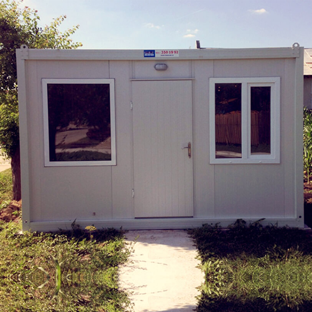 Modern low cost modular prefab container house factory