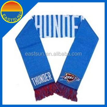 Knitting Pattern Fan Scarf Wholesale Sports Football Scarf - Buy Wholesale Sp...