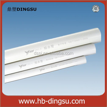 China Plant 90mm-630mm Pvc Pipe / Pvc-u Pipe / Upvc Plumbing ...