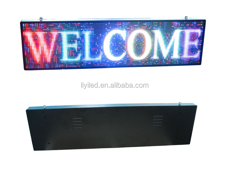 P10 full color outdoor hd super thin led screen video/led outdoor display sign/full color led display sign