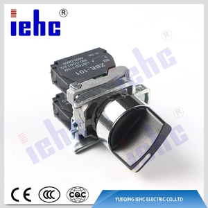high quality XB4 series handle head 2 position rotary selector self locking select switch