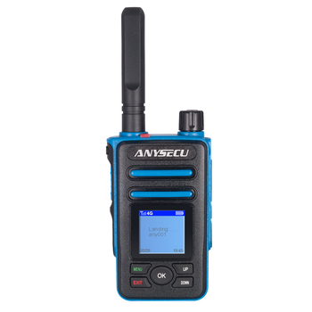 Anysecu  4G LTE  3G CDMA  Network Two way radio  F8 Plus SIM  Card IP   walkie talkie  only for   Realptt