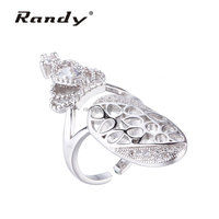 Fashion Hot Sale Products Crown Ring Fancy Finger Rings Hollow Jewelry