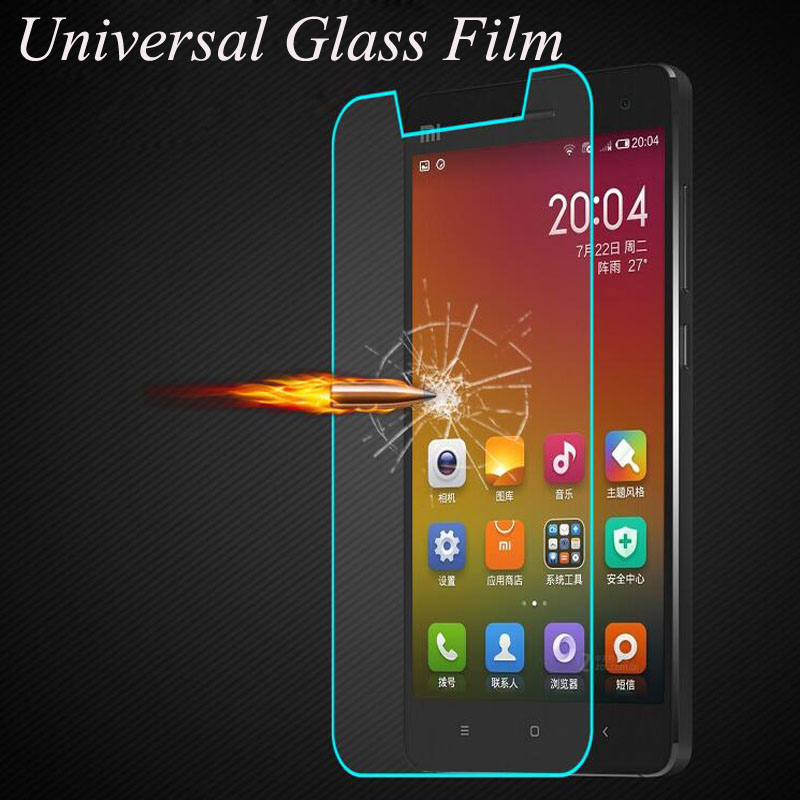 Universal Tempered Glass Screen Protector For All Smartphone Without Home  Key For Xiaomi Huawei Meizu Lenovo LG Protective Film