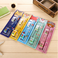 High quality School Stationery Kids Fancy promotional cheap stationery sets