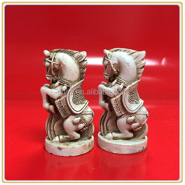 Collectible Qing Dynasty horse chess pieces wholesale