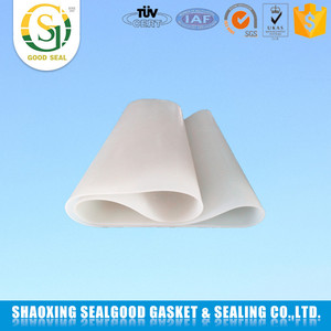 Factory customized best sales /EPDM/FKM/silicone white rubber sheet