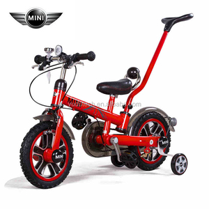 License MINI RSZ1203 Rubber Gear Brake kids bicycles for sale 12 inches Foot Pedal Driving 4 wheel bicycle for sale