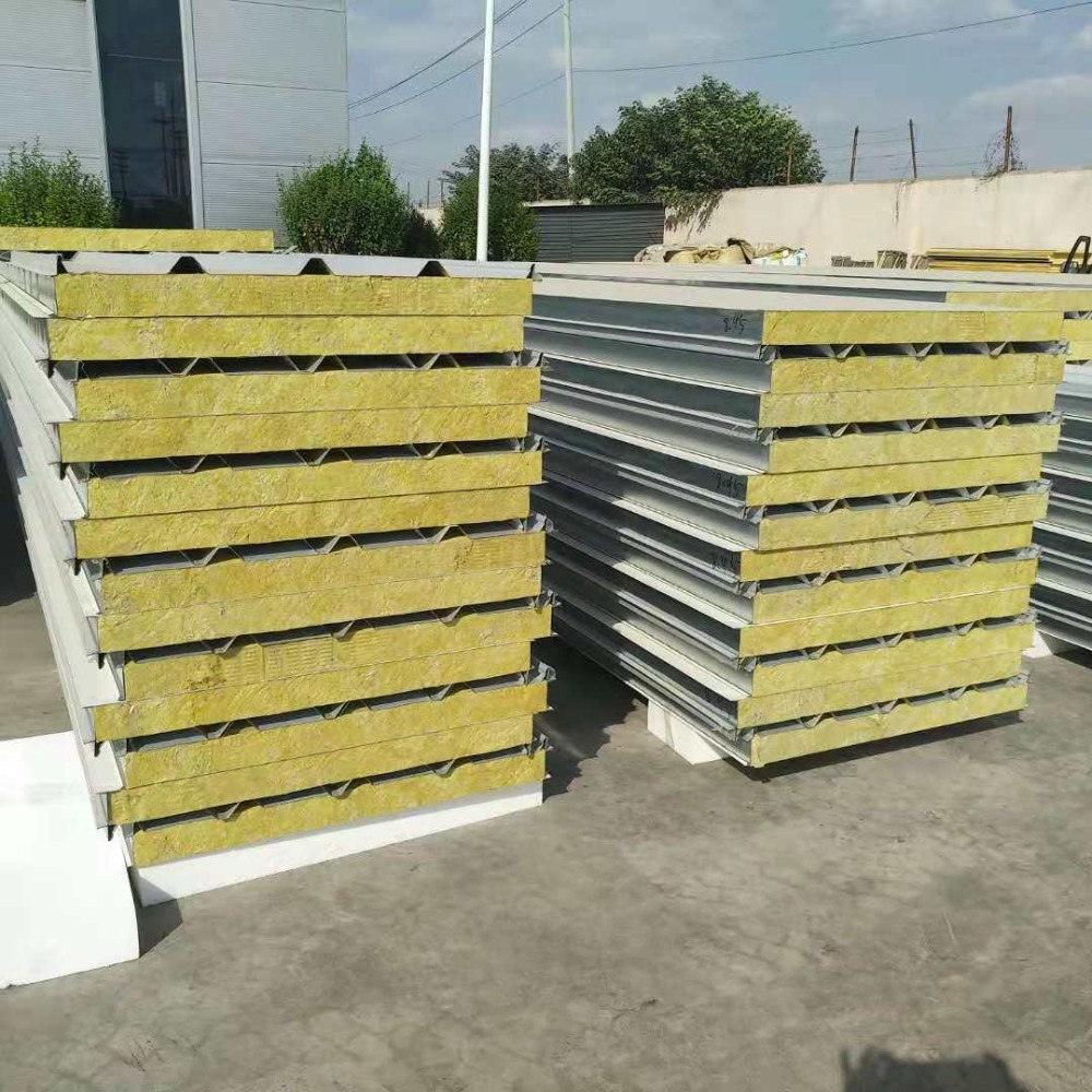 Rock Wool Insulation 120 Minutes Fireproof Prefabricated