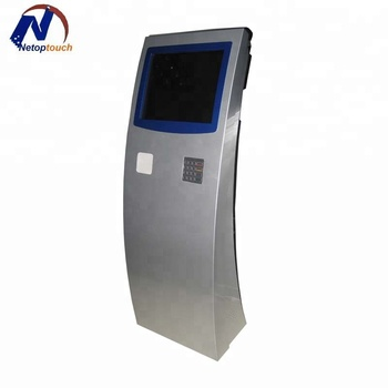 Excellent Card Checking Printing Kiosk Barcode Scanner Operated