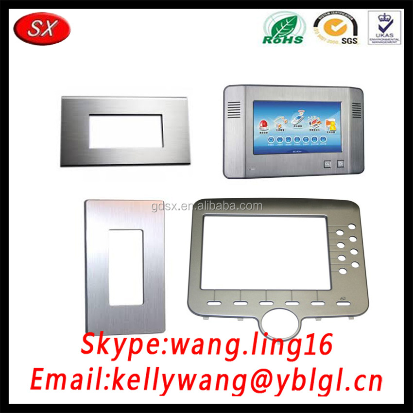 Aluminum 32 Keypad Video Door Phone Video Intercom Screen Touch Panel