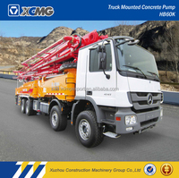XCMG HB60K 60m concrete pump car price