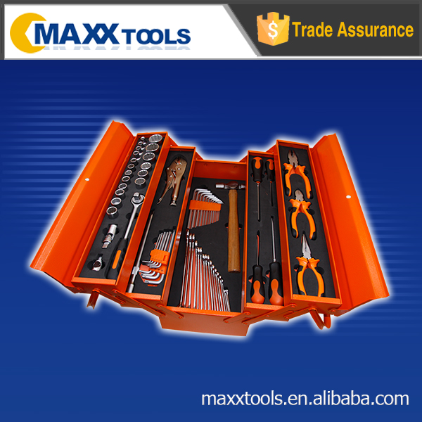 70pcs Tool set mechanical tool set with metal box home use hand tool kit
