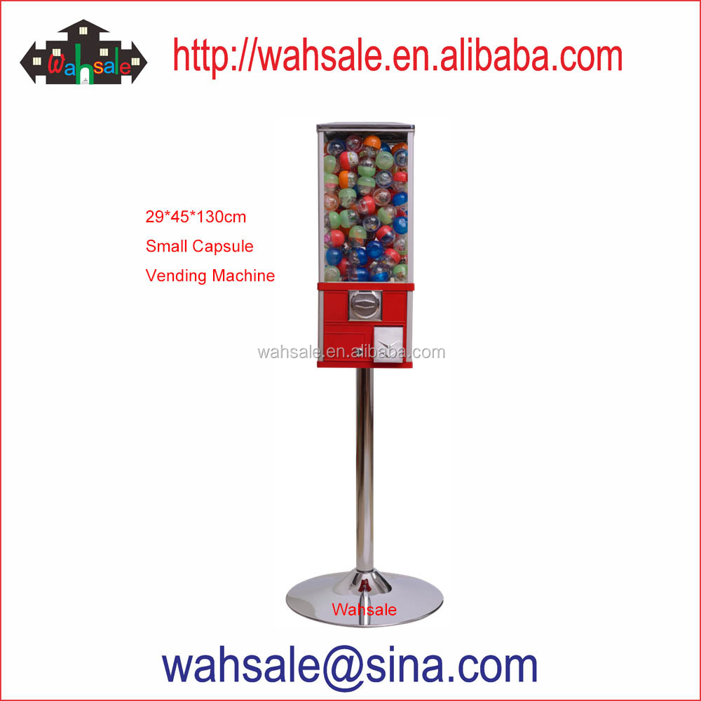 Amazing candy gumball vending game machine for shops