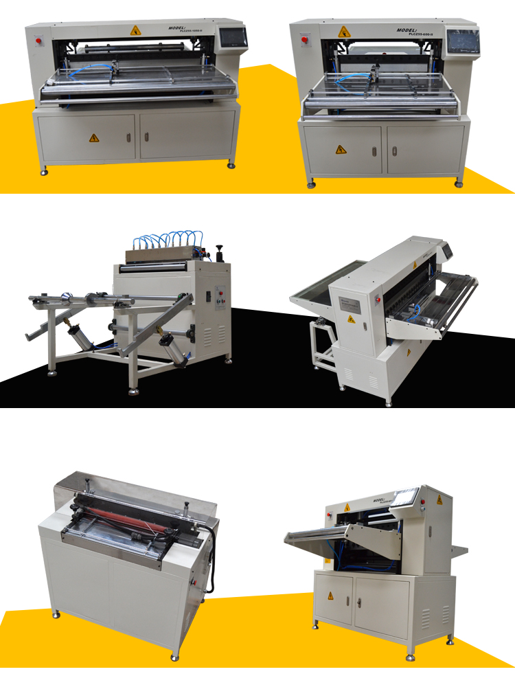 Air filter making filter paper pleating corrugated folding machine