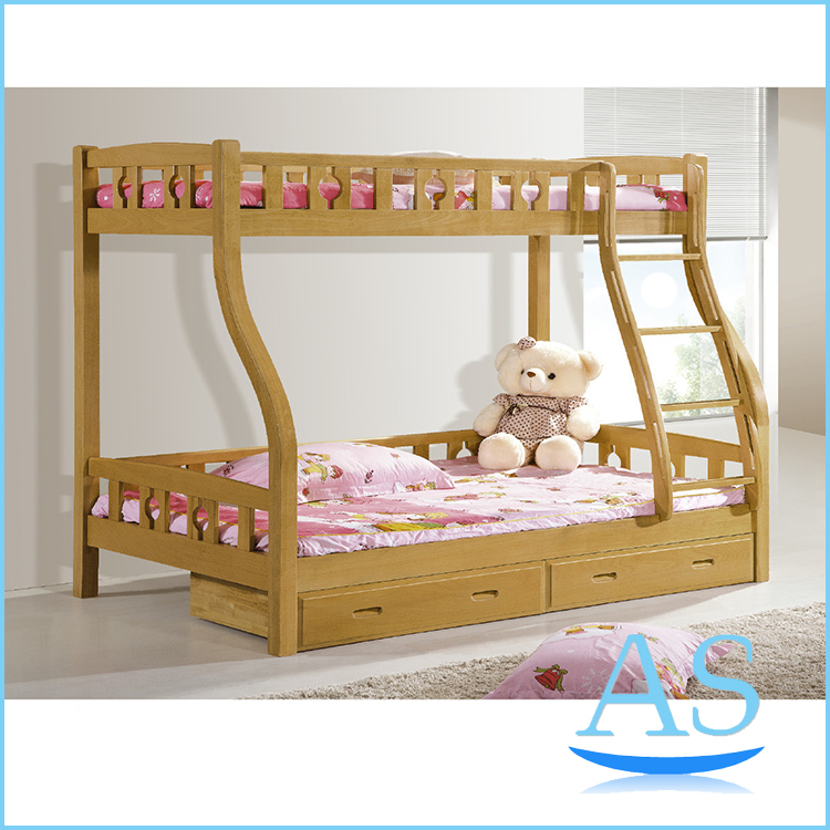2015 bonne qualit en bois enfants lit superpos enfants double meubles de chambre coucher. Black Bedroom Furniture Sets. Home Design Ideas