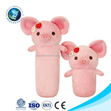 China Manufacturer Animal Pig Stuffed Pillow Cute Baby Neck Pillow Kids Throw Pillow