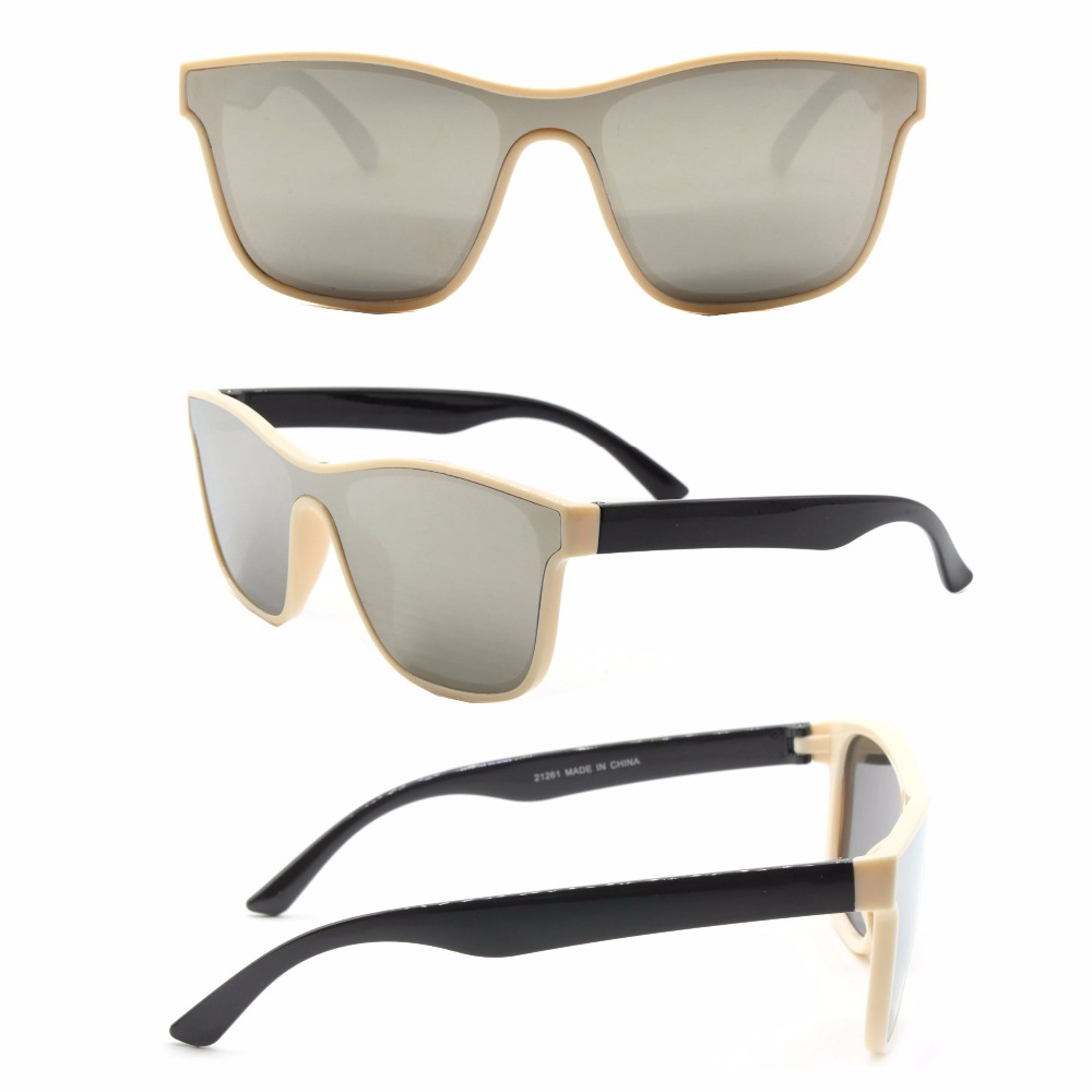 96d2713162 Men Brand Designer One Piece lens Fashion Sun Glasses Polarized Polaroid  Sunglasses