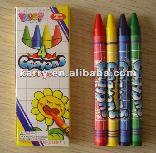 Non-toxic Coloured Crayons Passed EN71-3 NEW 19 elements