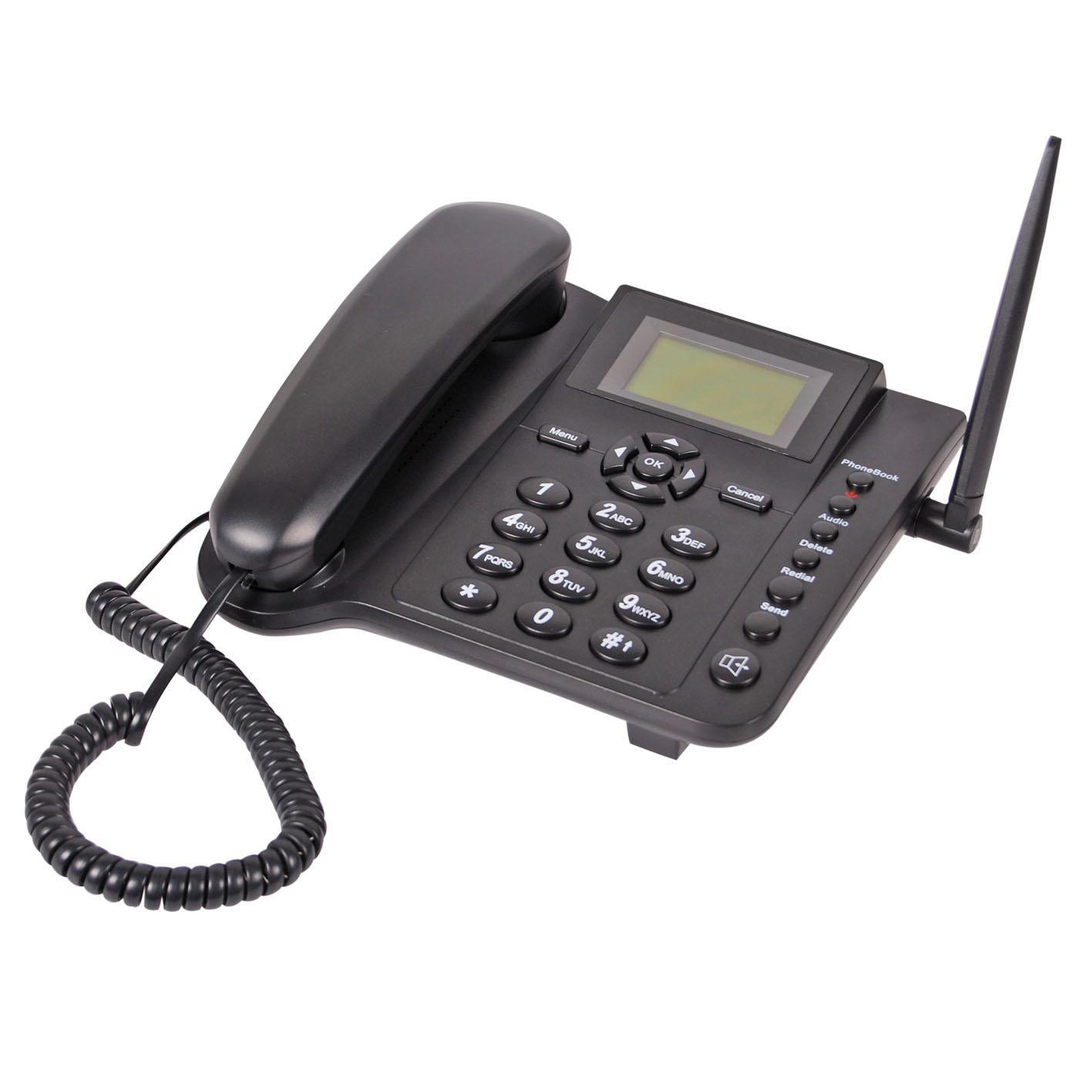3G Frequency fixed wireless desk phone ,best cheap china factory 2019 supply