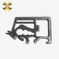 Hot selling outdoor EDC card tools survival gear multi credit card knife Multi Tool Card