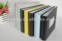 Popular photo album book photo display book for friends and family