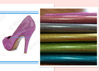 more kinds glitter fabric leather for shoes