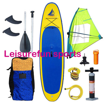 best 2017sport inflatable windsurf board