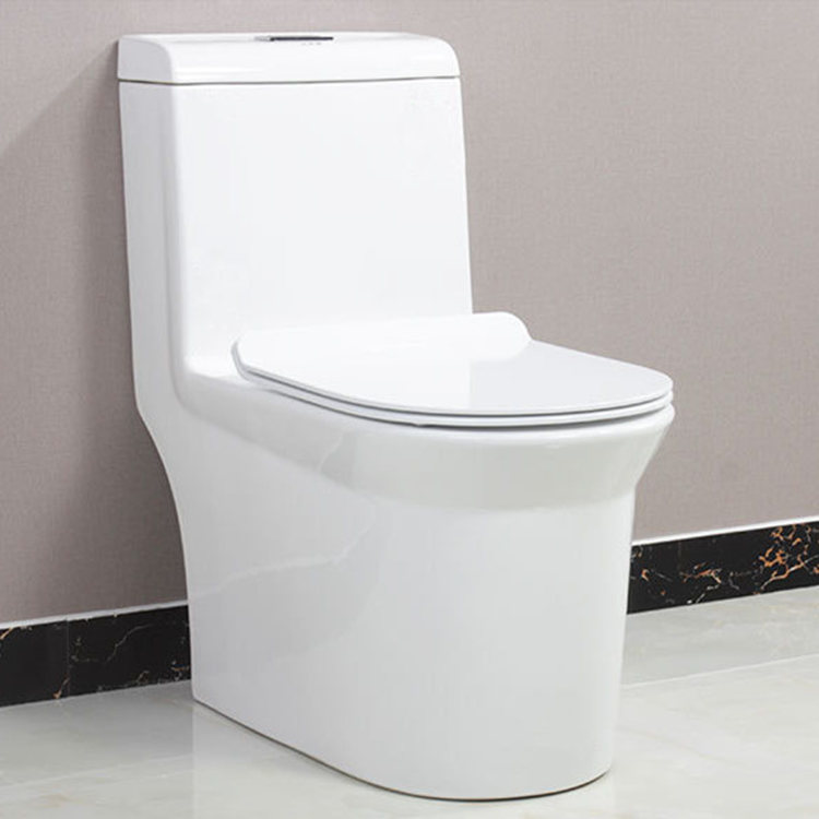 Sanitary Ware Bathroom Siphonic Design Chinese WC Toilet Price