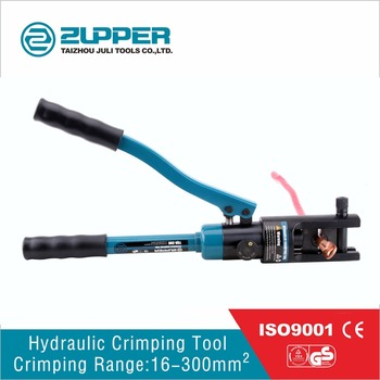 YQK-300 hydraulic cable lug crimping tools with dies