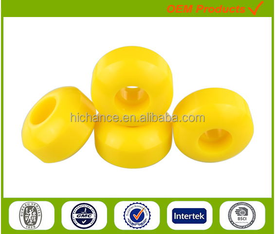 Wholesale skate board accessories good quality soft pu wheels