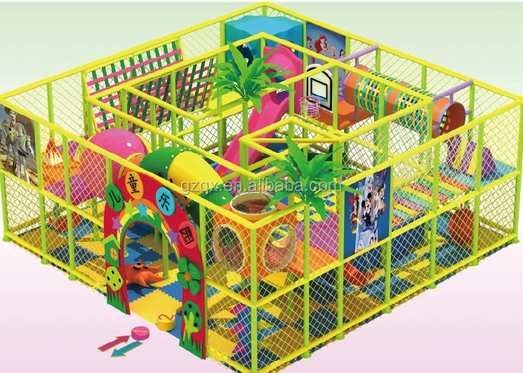 Large scare indoor children playground used indoor for Indoor play area for sale