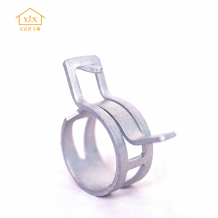 Japan type zinc plated cheap cable spring hose clamp from china supplier