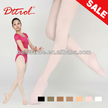 D004819 Dttrol sexy girls footed compression ballet dance tights