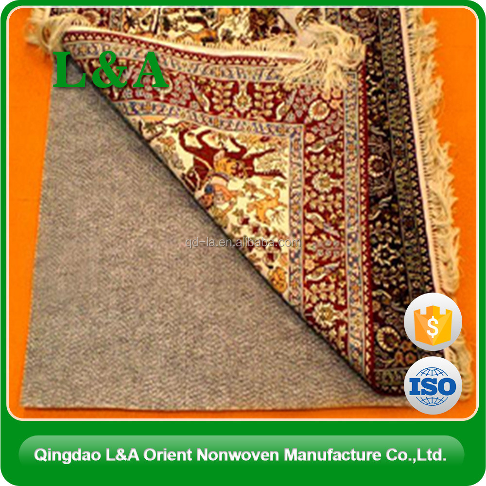 Flooring Accessories Nonwoven Carpet Mat Under Rug, Anti Slip Rug Underlay Felt with Dot