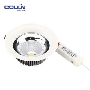 Coulin commercial price housing surface mounted IP65 SMD 10W / 15W / 20W / 30w /35W recessed cob led downlight