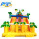 0.55mm PVC Tarpaulin Dinosaur Inflatable Dry Slide for Promotion