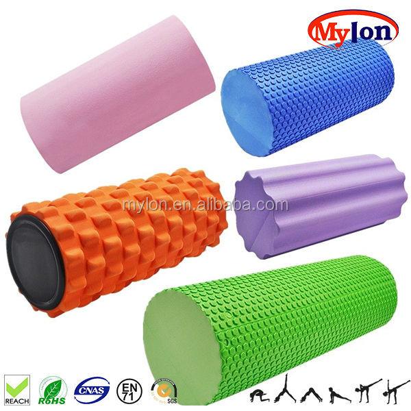 yoga foam roller with pvc core    massage foam roller    eva