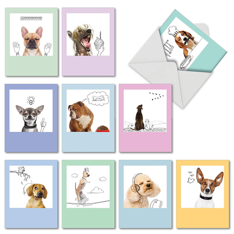 Elegant Design Greeting Card, Includes Pack Blank Note Card, Stickers-Perfect For Wedding, Baby shower, Business,Bridal