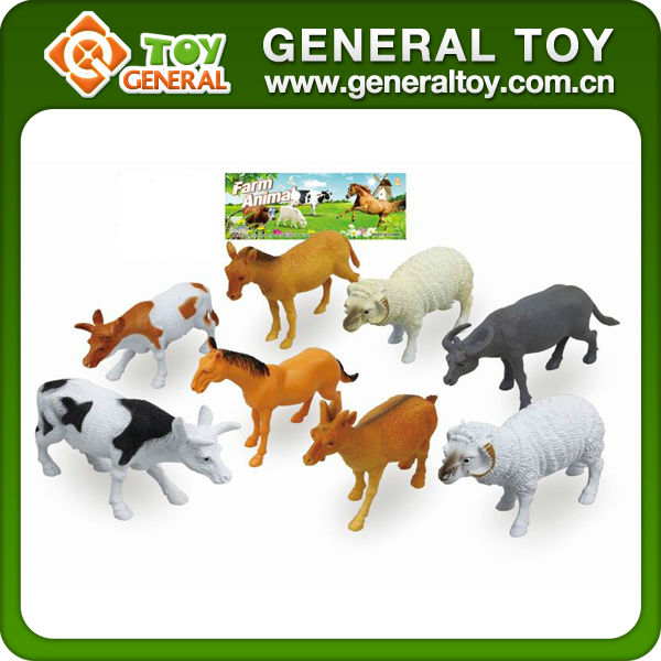 plastic animal toy farm bulk plastic animal toys, small plastic animal  figurines, View plastic animal toy farm, General Toy Product Details from